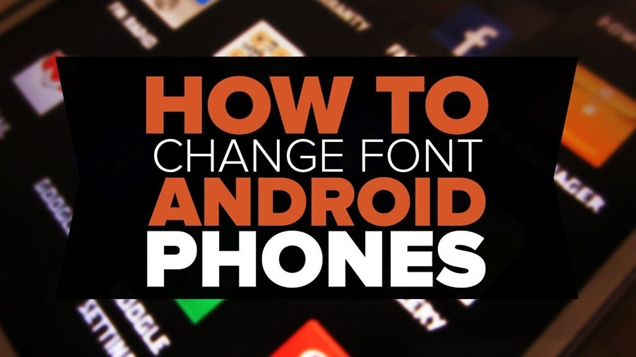 how to change the font on lioden